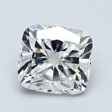 1,27-Carat Cushion Diamond Very Good H VS1