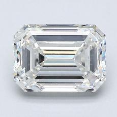 Recommended Stone #3: 1,70-Carat Emerald Cut Diamond