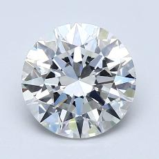 1.50-Carat Round Diamond Ideal F VS1