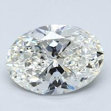 Piedra recomendada 2: Talla ovalada de 1.70 quilates