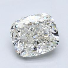 1.51 Carat 垫形 Diamond 非常好 I VVS2