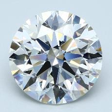 Pierre recommandée n°3: Diamant taille ronde 6,02 carat