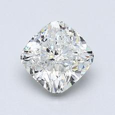 0.97-Carat Cushion Diamond Good I VS1