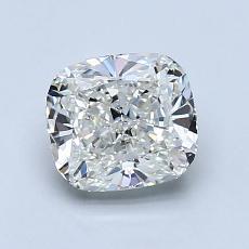 1.22-Carat Cushion Diamond Very Good H VS1