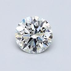 Recommended Stone #1: 0.71-Carat Round Cut Diamond