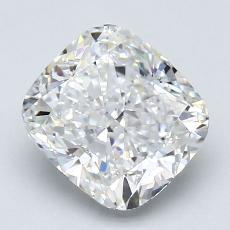 2.02-Carat Cushion Diamond Very Good F VS2