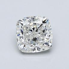 1.00 Carat 垫形 Diamond 非常好 F VVS1