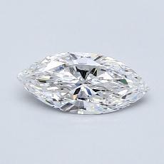 推薦鑽石 #4: 0.52 Carat Marquise Cut