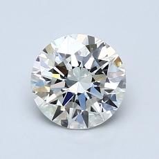 1.01 Carat 圆形 Diamond 理想 I VS1