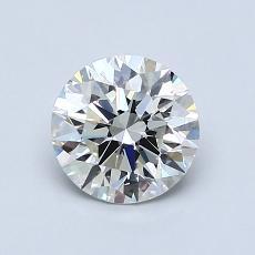 1.01 Carat 圆形 Diamond 理想 I IF
