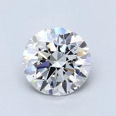 Current Stone: 1.01-Carat Round Cut