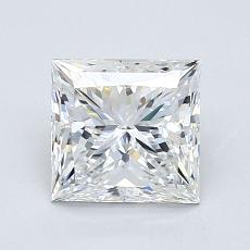 Recommended Stone #1: 1.25-Carat Princess Cut