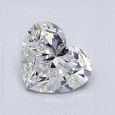 Recommended Stone #3: 1.01-Carat Heart Shaped
