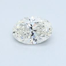 推薦鑽石 #3: 1.51  克拉橢圓形切割