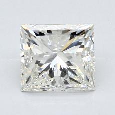 1.50 Carat 公主方形 Diamond 非常好 J VS1