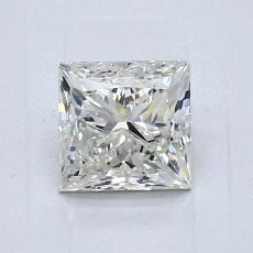 1.01 Carat 公主方形 Diamond 非常好 J VS2