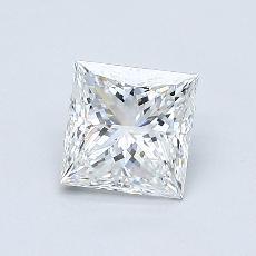 Current Stone: 0.71-Carat Princess Cut