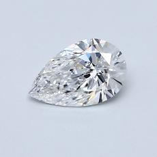 Recommended Stone #1: 0.50-Carat Pear Shaped