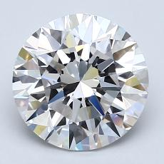Recommended Stone #3: 2.53-Carat Round Cut