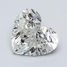 Recommended Stone #4: 1.50-Carat Heart Shaped