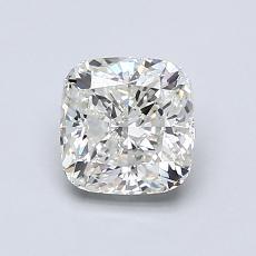 1.00-Carat Cushion Diamond Very Good I VVS2