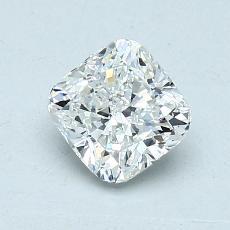 1,15 Carat Coussin Diamond Très bonne H VVS1