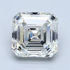 推薦鑽石 #2: 2.01 Carat Asscher Cut