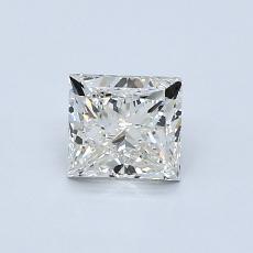 推荐宝石 4:0.80 克拉公主方型切割