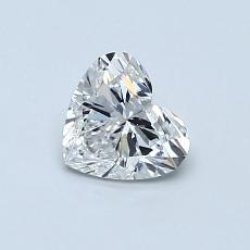 Recommended Stone #3: 0.56-Carat Heart Shaped