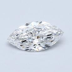 推薦鑽石 #2: 0.55 克拉欖尖形切割
