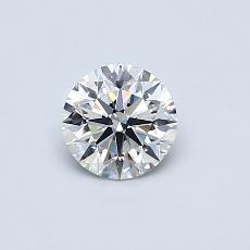 推荐宝石 4:0.50 克拉圆形切割