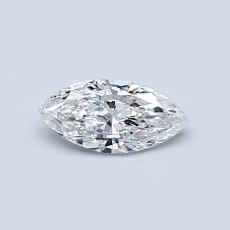 Recommended Stone #1: 0.30-Carat Marquise Cut