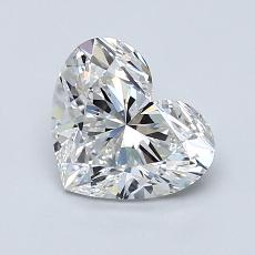 Recommended Stone #2: 1.21-Carat Heart Shaped