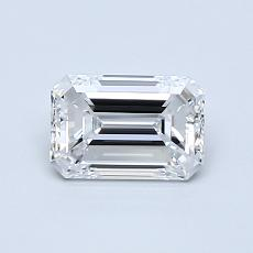 Recommended Stone #1: 0,80-Carat Emerald Cut