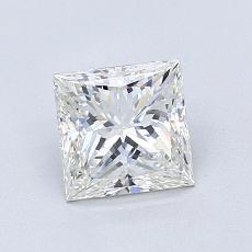 推薦鑽石 #2: 1.01 克拉公主方形切割