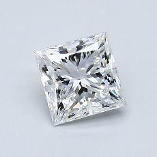 Recommended Stone #4: 0.75-Carat Princess Cut