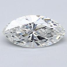 推荐宝石 4:1.02 克拉马眼形切割