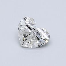 Recommended Stone #4: 0.50-Carat Heart Shaped