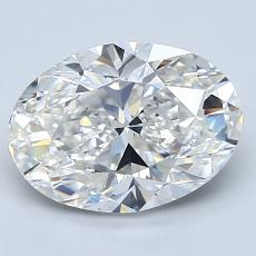 Recommended Stone #3: 2.31-Carat Oval Cut