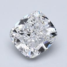 推薦鑽石 #4: 1.71 克拉墊形切割