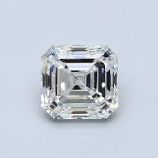 推薦鑽石 #4: 0.91 克拉上丁方形切割