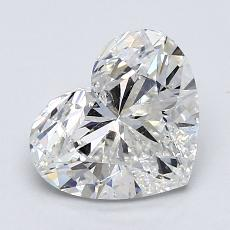 Recommended Stone #1: 1.60-Carat Heart Cut Diamond