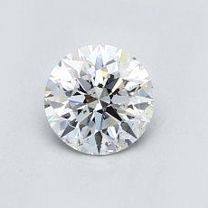 0.72-Carat Round Diamond Ideal E SI2