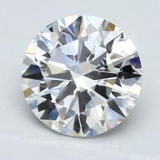 2.02-Carat Round Diamond Ideal E VS1