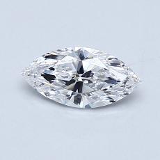推荐宝石 4:0.53 克拉马眼形钻石