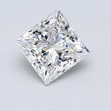 Pierre recommandée n°2: Diamant taille princesse 0,91 carats