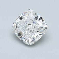 1.05-Carat Cushion Diamond Very Good E VVS2