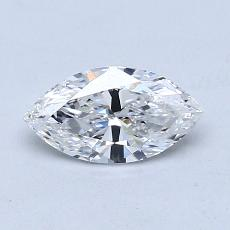 Recommended Stone #2: 0.52-Carat Marquise Cut Diamond