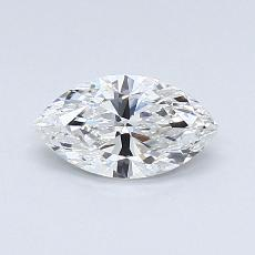 0.51-Carat Marquise Diamond Very Good F VS2