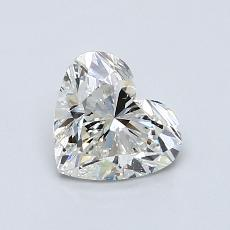 Recommended Stone #4: 0.91-Carat Heart Cut Diamond